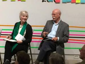 Tobias Wolff, Sue Staats, Stories on Stage Sacramento, readers theatre, reading series, literary arts, Sacramento literary arts, Sacramento performing arts, readers, writers
